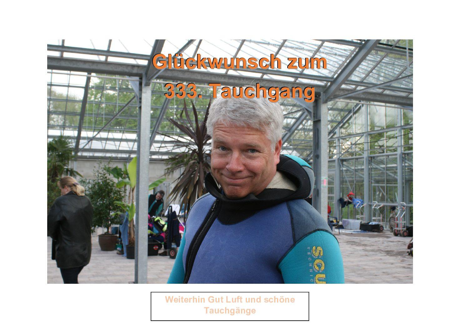 333. Tauchgang von Karl-Heinz Boysen